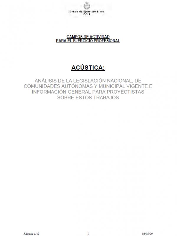 Guía para la redacción de trabajos de Acústica. (Año publicación: 2009)