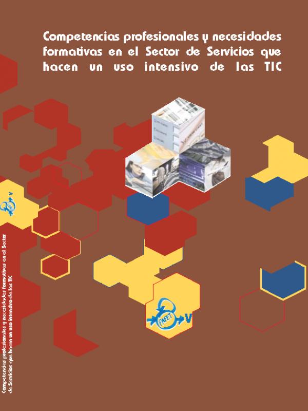 PAFET 5 - Competencias profesionales y necesidades formativas en el Sector de Servicios que hacen un uso intensivo de las TIC. (Año publicación: 2008)