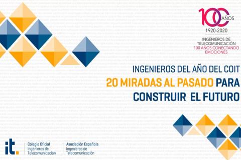 """Presentación del libro """"Ingenieros del año. 20 Miradas"""", y del sello y video oficial del Centenario"""