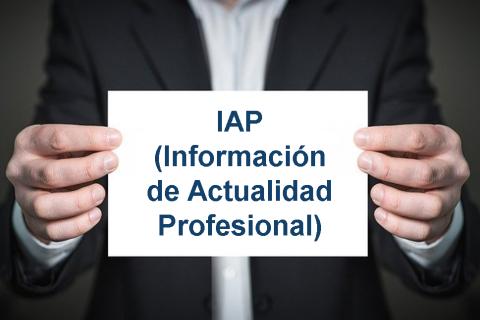 IAP (Información de actualidad profesional)