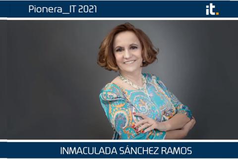 Inmaculada Sánchez Ramos, Premio Pioneras_IT  2021