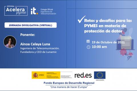 Jornada Virtual: Retos y desafíos para las PYMES en materia de protección de datos