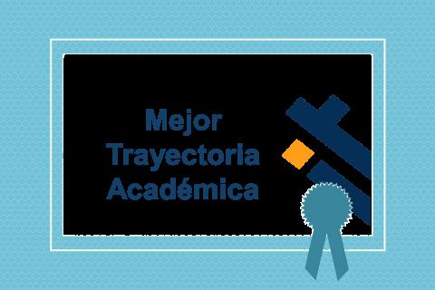 Mejor trayectoria académica