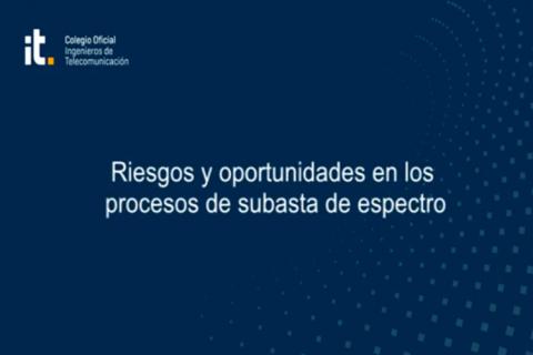 Webinar: Riesgos y oportunidades en los procesos de subasta de espectro