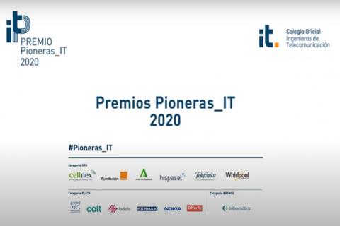 Acto de entrega 1ª edición Premio Pioneras_IT