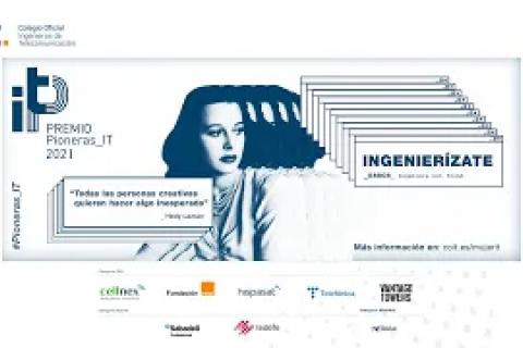 Declaraciones del evento de la entrega del premio Pioneras IT 2021