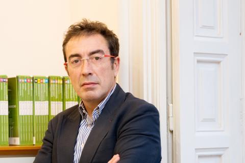 Julio Sánchez Agrelo, decano del COIT en Galicia