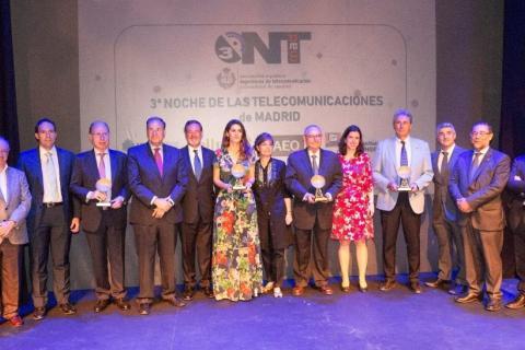 La 3ª edición de la Noche de las Telecomunicaciones reúne a todo el sector Teleco de Madrid