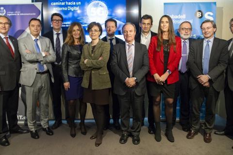 """El COIT apuesta por el desarrollo del futuro de la tecnología móvil en el evento """"Road to 5G: reglas para caminar hacia un entorno digital"""""""