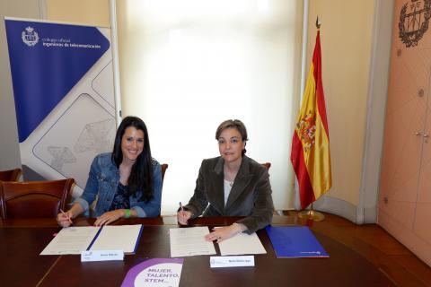 El COIT y STEM Talent Girl trabajarán conjuntamente para fomentar las vocaciones tecnológicas en niñas y jóvenes