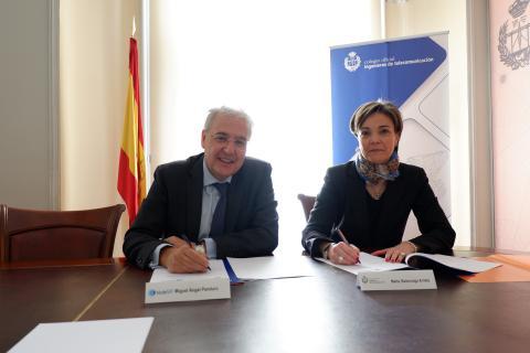 HISDESAT Y COIT RENUEVAN SU COLABORACIÓN EN 2019