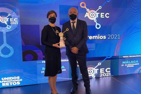 Aotec premia al COIT por su trabajo junto a los operadores locales