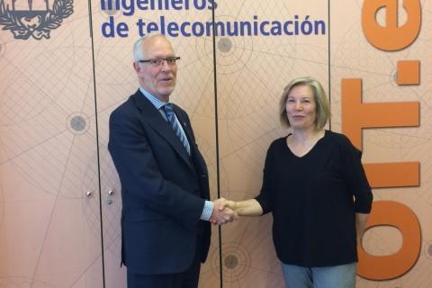 COIT y AIPREX rubrican un acuerdo para el asesoramiento de profesionales en materia socio-laboral