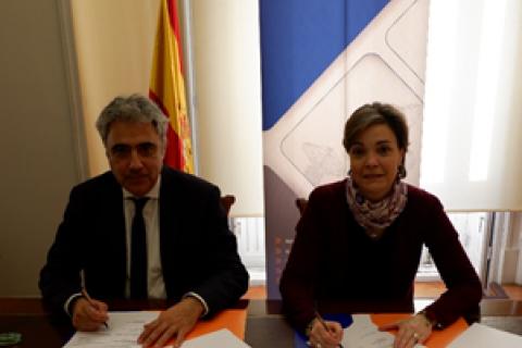 El COIT y la Fundación Santa María la Real del Patrimonio Histórico firman un acuerdo de colaboración para impulsar el uso de las tecnologías en la rehabilitación y monitorización de edificios de patrimonio histórico.