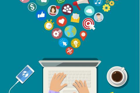 Una foto detallada del uso de Internet en España