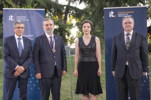 El COIT entrega a Félix Pérez el Premio 'Ingeniero del Año' 2020