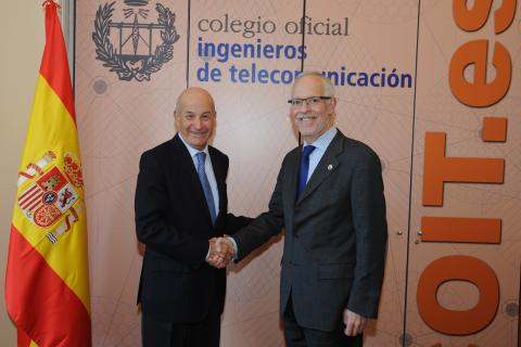 El COIT y la Mutualidad de la Ingeniería  suscriben un acuerdo de colaboración