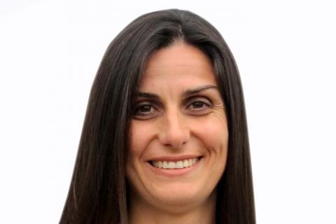 Sara Rodríguez, coordinadora del GT e-salud del COIT