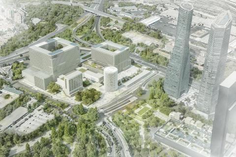 El COIT participa en el diseño del futuro Hospital La Paz de Madrid