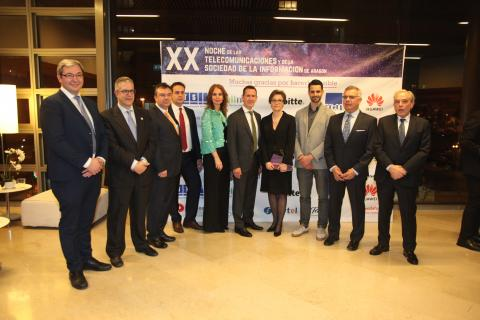 XX Noche de las Telecomunicaciones y la Sociedad de la Información en Aragón