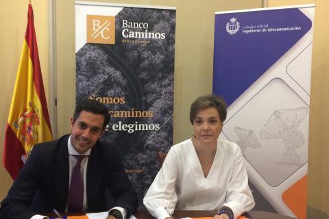Banco Caminos colaborará con el COIT en sus eventos anuales