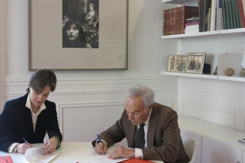 El COIT renueva el acuerdo de colaboración con la Fundación Amigos del Museo del Prado