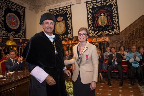 El COIT recibe la Medalla Honorífica de Plata de la Universidad de Alcalá