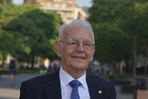 Los Ingenieros de Telecomunicación reconocen a Manuel Moralejo por su Trayectoria Profesional