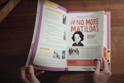 #NoMoreMatildas o la búsqueda de referentes femeninos