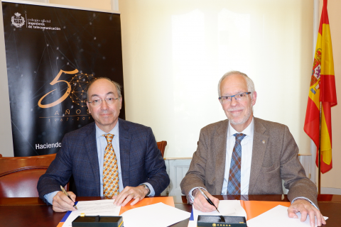 El COIT rubrica un nuevo convenio de colaboración con TELDAT