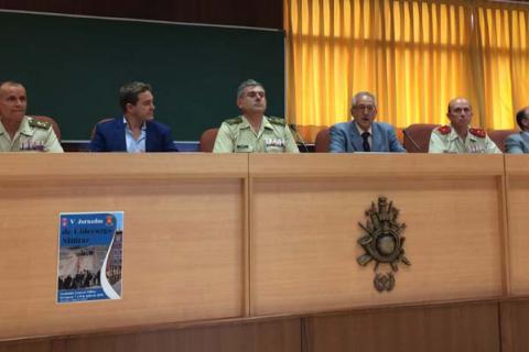 LA DEMARCACIÓN DEL COIT EN ARAGÓN ORGANIZA UNA JORNADA PARA LOS FUTUROS OFICIALES DEL EJÉRCITO DE TIERRA