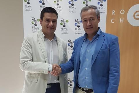 El COIT firma un acuerdo con FEVAL - Institución Ferial de Extremadura