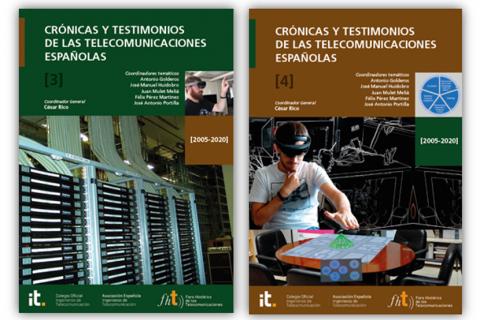 """Presentación de los tomos 3 y 4 del libro """"Crónicas y Testimonios de las Telecomunicaciones Españolas (2005-2020)"""""""