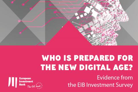 España por encima de la media comunitaria en adopción de tecnología digital, según el Banco Europeo de Inversiones
