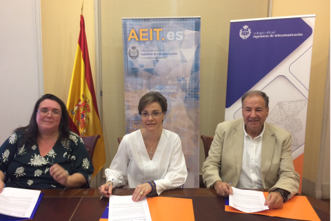 El COIT, la AEITM y Power to Code trabajarán conjuntamente para potenciar las vocaciones STEAM en niñas, adolescentes y mujeres