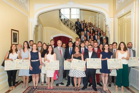 El COIT y la AEIT promueven la excelencia y premian el talento en la entrega de los Premios Ingenieros de Telecomunicación