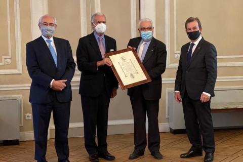 Las asociaciones del Instituto de la Ingeniería de España, entre ellas la AEIT, premiadas por la Fundación Carlos III