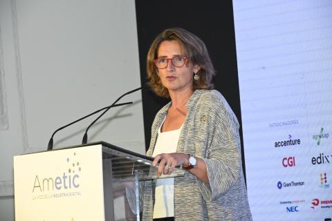 """Teresa Ribera afirma que """"transición ecológica y digitalización son la base de la recuperación"""""""