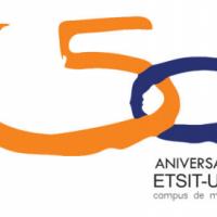 logo ETSIST UPM 50 aniversario