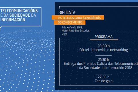 XXIII Noite Galega das Telecomunications e da Sociedade da Información 2018
