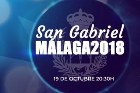 Celebración San Gabriel Málaga 2018