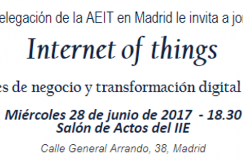 III Jornada sobre Internet de las Cosas