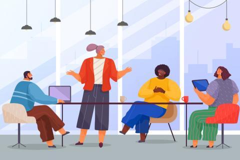 Síndrome de la única (entornos de trabajo mixtos)