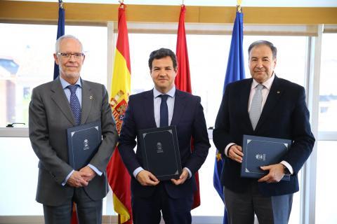 Firma Convenio COIT - AEITM con Ayuntamiento de las Rozas