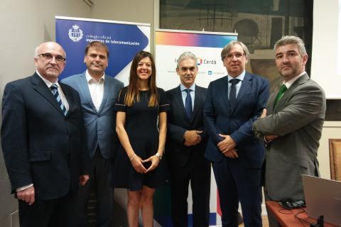 La Fundación Institut Cerdà y el Colegio Oficial de Ingenieros de Telecomunicación celebran en Madrid una jornada para debatir sobre el impacto de la implantación del 5G en el territorio