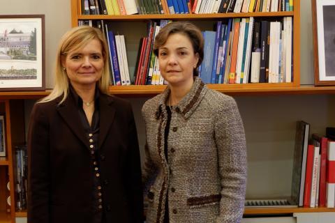 Firma de convenio entre el COIT y el Círculo de Mujeres de Negocios
