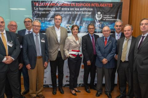 """Éxito de participación en el congreso """"Telecomunicaciones en Edificios Inteligentes"""""""