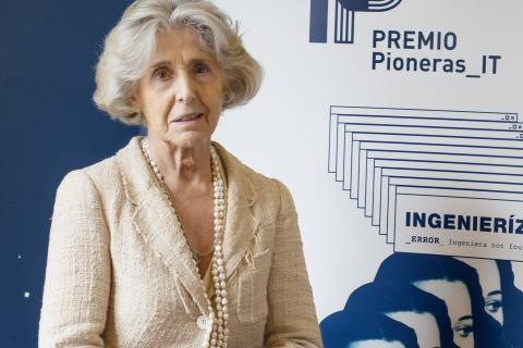 María Jesús Prieto-Laffargue, Premio Pioneras IT 2020