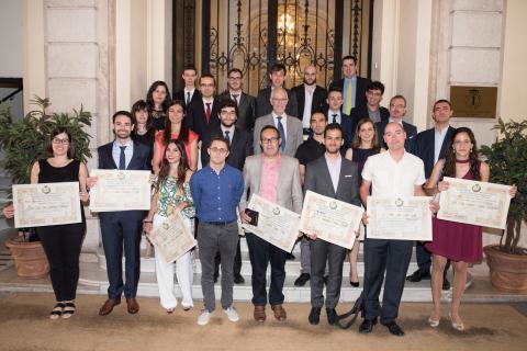 Entrega de premios. XXXVII edición Premios Ingenieros de Telecomunicación 2016